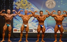 IFBB Diamond Cup Athens 2016 - Overall Title