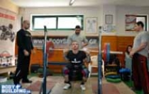 4o Atlas Challenge 2015 - Squat Power Reps -80