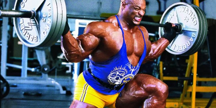 Ronnie Coleman Legs Workout 750x374