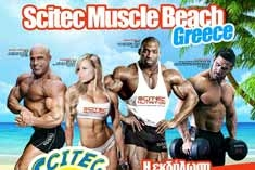 Scitec Muscle Beach Greece 2016