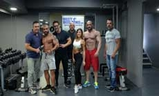 Trioulidis Team Romania Muscle Fest 2019 3 days out
