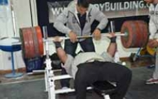 3o Atlas Challenge 2013 - Open Bench Press Max Reps